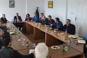 Fakültemizde Okul Müdürleriyle Müfredat Değerlendirme Toplantısı Yapıldı