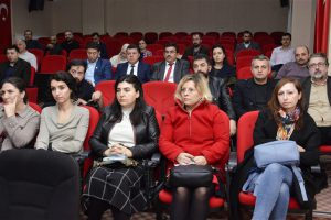 'Sıfır Atık Projesi' Bilgilendirme Toplantısı Fakültemiz Konferans Salonunda Gerçekleştirildi.