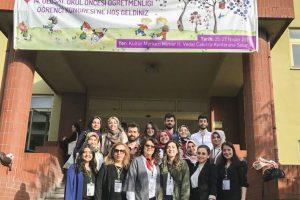 Öğrencilerimiz 14. Ulusal Okul Öncesi Öğretmenliği Öğrenci Kongresine Katıldılar.