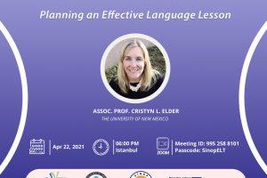 """""""Etkili Bir Dil Dersi Hazırlama"""" ve """"Konuşma ve Dinleme Becerilerinin İlgi Çekici Bir Şekilde Öğretimi"""" Çalıştayları"""