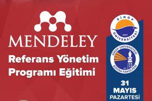 MENDELEY Referans Yönetim Programı Eğitimi